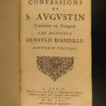 1671 Confessions of Saint Augustine Catholic Doctrine Predestination Philosophy
