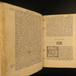 1556 1ed Images of the gods Vincenzo Cartari Italian Art Greco-Roman Mythology