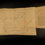 1815 1ed Travels in South Africa Scottish Campbell King Slavery Illustrated MAP