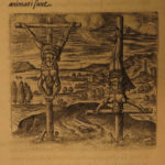 1594 1st ed The Cross TORTURE Crucifixion Lipsius Martyrs Illustrated Gruesome