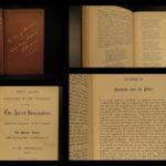 1894 1st ed Charles Spurgeon Art of Illustration Puritan Baptist Bible Lectures