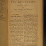 1863 1st American edition Les Misérables Victor HUGO French Literature RARE