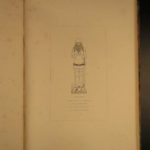 1849 ENORMOUS 1st ed Monumental Brasses English Knights & Bishops Illustrated