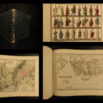 1822 Segur ATLAS Maps Costumes Coins Architecture Weapons Rome RARE History