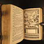 1682 Imitation of Christ Thomas a Kempis Latin Egmond Monastic Prayers MINIATURE