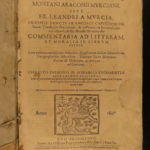 1647 RARE Bible & Esther Commentary Franciscan Madrid Spain Capuchin Murcia