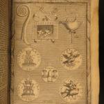 1685 Rosinus Romanarum Antiquitatum ROME Constantine Julius Caesar Plato Pliny