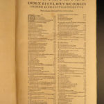 1587 Justinian LAW Corpus Juris Civilis Codex Digest Godefroy Modius Commentary