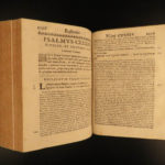 1682 Jesuit Bible & Commentary on Psalms Rouen RARE Bellarmine of Galileo Trial