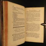 1744 Hermetic Philosophy of Fresnoy Kabbalah Alchemy Albert Magnus Flamel Bacon