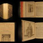 1589 Saint Ephrem Syriac Aramaic Hymns Persian Greek VATICAN Printing Vossius