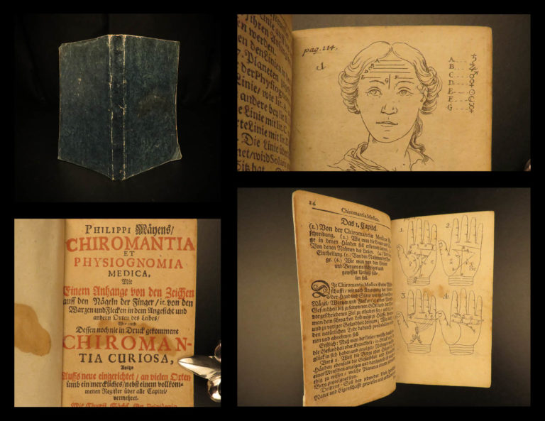 Image of 1697 Mey Chiromancy & Physiognomy Witches Fortune-Telling Palmistry Occult