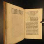 1552 ALDINE Cicero on Immortality Evil & Death Philosophy Tusculan Rome Bonorum