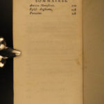 1774 Grosley's LONDON English Society & History French Voyage Customs MAP 4v