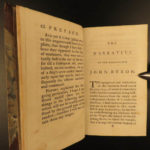 1780 Byron VOYAGES Patagonia South America Shipwreck Wager Mutiny Liechtenstein