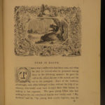 1836 1st Fairy Book Cinderella Sleeping Beauty Puss in Boots Woodcuts Perrault
