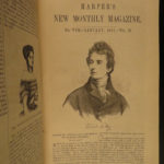 1851 MOBY DICK first publication of any form Harpers Monthly Magazine Fashion
