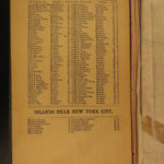 1828 MAP of New York City Suburbs Railroads New Jersey EC Bridgman Color