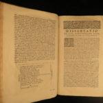 1664 Tertullian Early Church Father Pagan Heresy anti Jewish Pamelius Latin HUGE