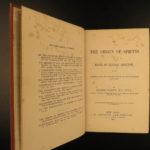 1881 Darwin Origin of Species Evolution Survival of Fittest Biology Science