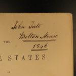 1842 1ed Buckingham Slave States of America South Negro SLAVERY INDIANS 2v SET