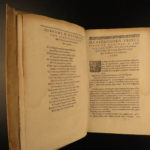 1626 Greek Language & Literature Anthology Possel Calligraphia Oratoria RARE