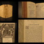 1664 Works of Plautus Ancient Roman Poetry Gronovius Latin Bacchides Comedies