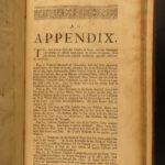 1715 1st ed LEEDS England Topography Architecture Thoresby MAP Geography London