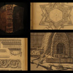 1676 1st ed ARCHITECTURE Felibien Architects Cathedrals Rome Illustrated ART