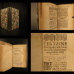 1633 1ed Septuagint BIBLE English John Donne Aristeas Library of Alexandria RARE