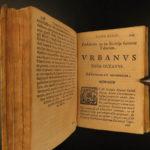 1669 1ed TOBACCO Smoking Illustrated PIPES Medicine Hookah RARE Benedetto Stella