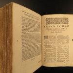 1624 Summa Conciliorum Spanish Inquisition Carranza Dominican Catholic Papacy