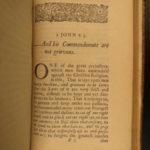 1671 PURITAN John Tillotson Bible Sermons Bishop of Canterbury Anglican Preacher
