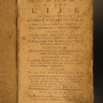 1774 1st ed Life of George Whitefield Great Awakening Methodist Gillies Revivals