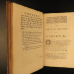 1755 1ed Military History of Europe Jacobite Rebellion Colonial USA Austrian War