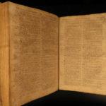 1751 RARE Thomas Baskett Holy BIBLE Old & New Testaments Apocrypha FOLIO London