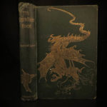 1892 1st ed Green Fairy Book Andrew Lang Fairy Tale Three Little Pigs Magic Swan