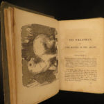 1857 1ed Arctic Whaleman Whale Fishing Hunting Eskimo Costumes Northern Lights