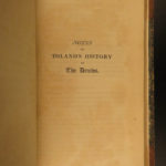 1814 1ed Irish DRUIDS Toland Ireland Celtic Occult Religion Language Huddleston