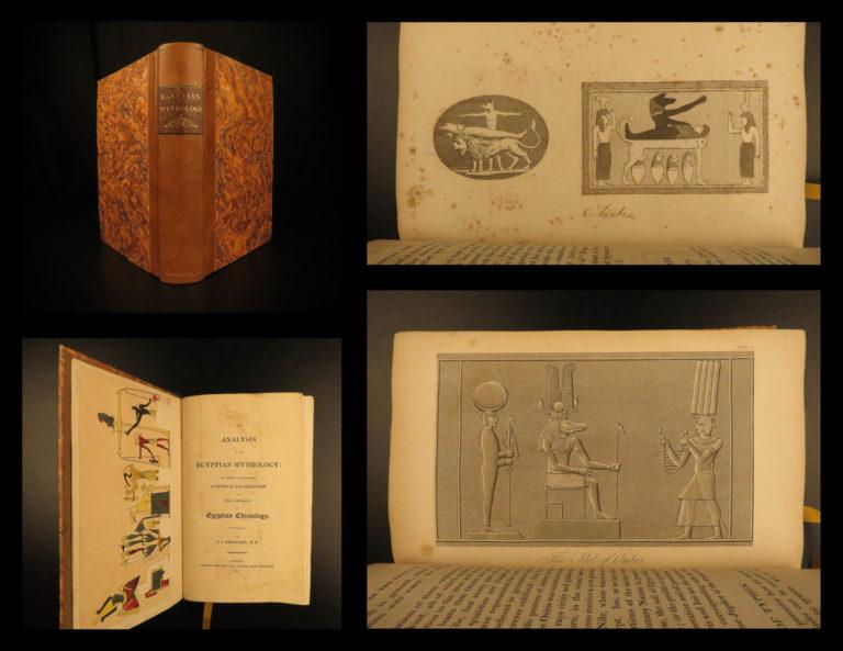 Image of 1819 1ed Egyptian Mythology Prichard Ocellus Isis Osiris Coptic Occult Illust