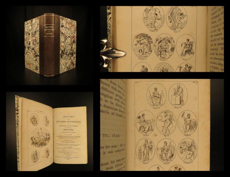 Image of 1806 DRUIDS Heathen Mythology Tressan Greek Legends Roman Gods Celtic Occult