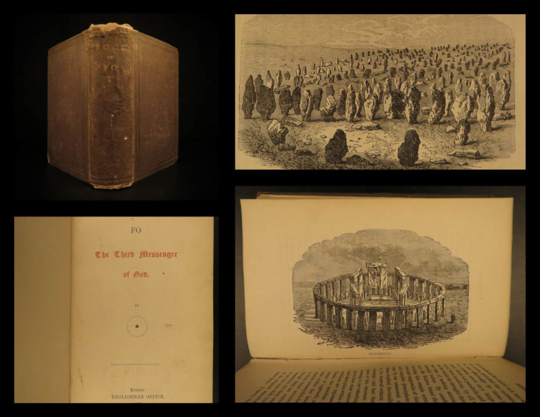 Image of 1878 1ed Book of Fo Buddhism Buddha Apocalypse Messenger Esoteric Occult Kenealy