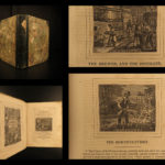 1836 Panorama of Professions & Trades Hazen Economics Manufacturing Illustrated
