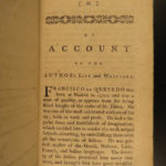1755 Quevedo Visions Occult GHOSTS Spanish Fantasy Dreams Demons Hell English