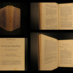 1860 GHOSTS Footfalls of Another World Spiritualism Dreams Miracles DEMONS Owen