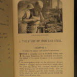 1897 1ed Marvels of Metals Metallurgy Silver & GOLD Jewelry Mining Illustrated