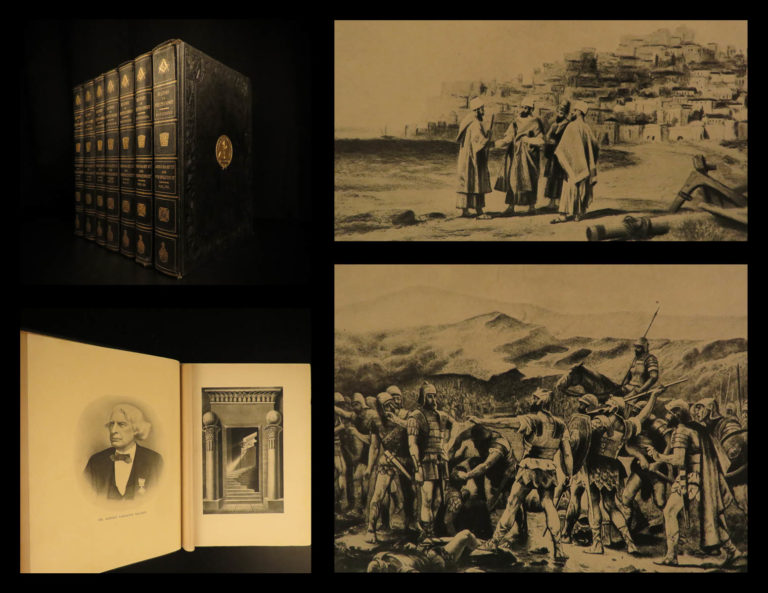 Image of 1898 1ed History of Freemasonry Scotland Mackey Masonic Crusades Illustrated