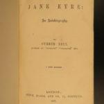 1857 Jane Eyre Charlotte Bronte Gothic Feminism Currer Bell CLASSIC Novel