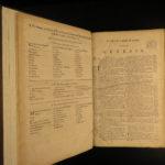 1793 RARE Scottish Holy Bible Edinburgh Scotland Kerr KJV English King James