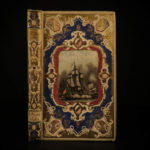 1862 Voyages of Laperouse Oceania Shipwreck Adventures Illustrated Samoa BINDING